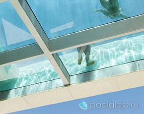 Ремонт стеклянных бассейнов