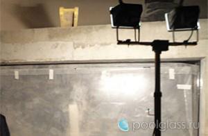 Ремонт стенки бассейна