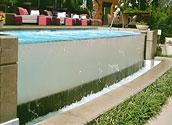 Запуск прозрачного бассейна в Wallness зоне
