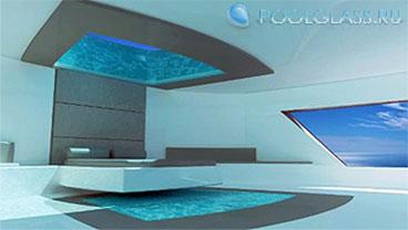 Прозрачный бассейн 2