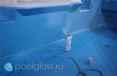 гидроизоляция бетонной чаши