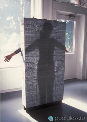 Прозрачные стены из бетона