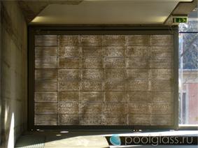 Декоративный прозрачный бетон