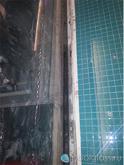 Устранение протекания бассейна