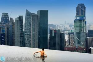 Бесконечный бассейн в Сингапуре