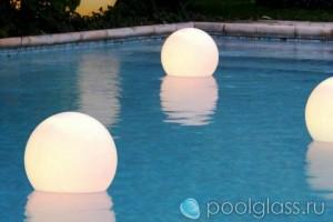 Плавающие акриловые светильники