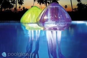 Плавающие светильники-медузы