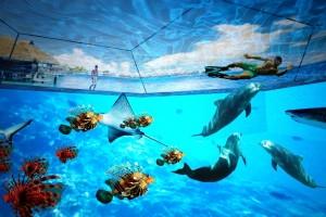 3D технологии в бассейне